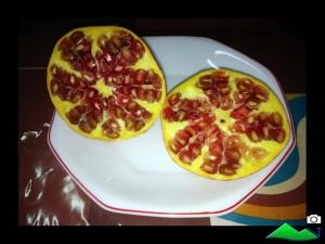 perlas fruta granada
